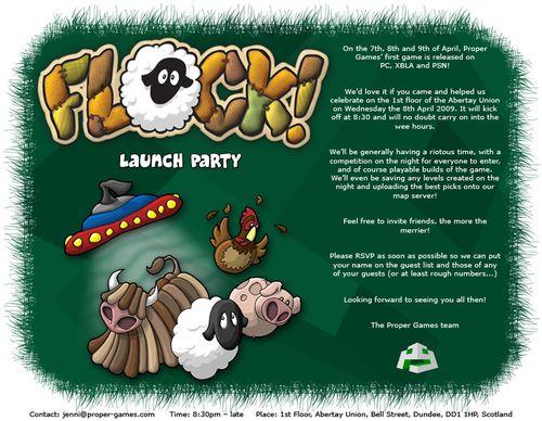 Flock invite - general